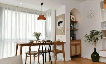 富裕型80平米三室一厅新古典风格餐厅图片