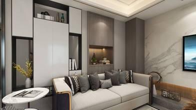 140平米三室四厅现代简约风格客厅欣赏图