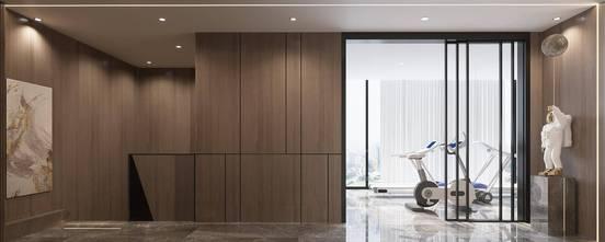 20万以上140平米复式轻奢风格健身房设计图