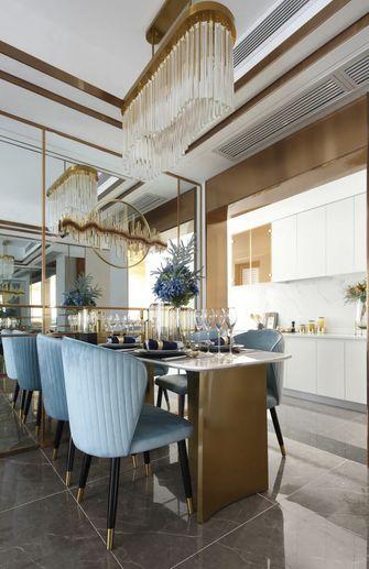 10-15万90平米三室一厅地中海风格餐厅欣赏图