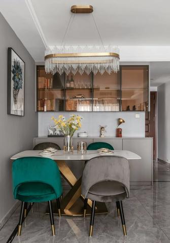 5-10万100平米三室两厅欧式风格餐厅设计图
