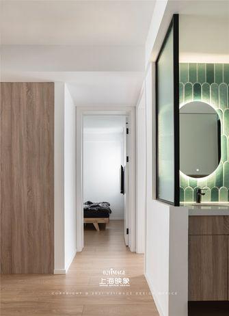 富裕型80平米三室两厅日式风格卫生间装修效果图