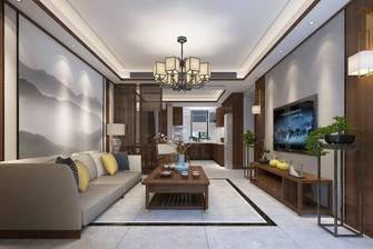 豪华型120平米三室两厅中式风格客厅装修案例