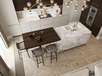 豪华型140平米三室一厅轻奢风格餐厅设计图