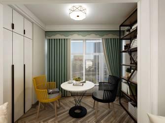 豪华型110平米三室两厅公装风格阳台效果图
