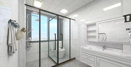140平米三室两厅美式风格卫生间装修案例