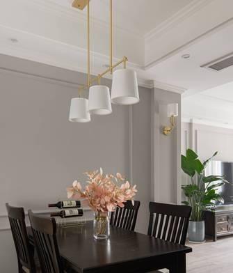 豪华型110平米三室两厅美式风格餐厅装修案例
