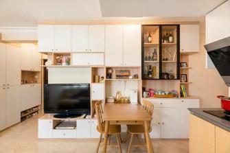 40平米小户型日式风格餐厅图