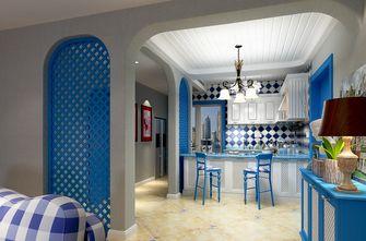 豪华型140平米四地中海风格餐厅装修案例