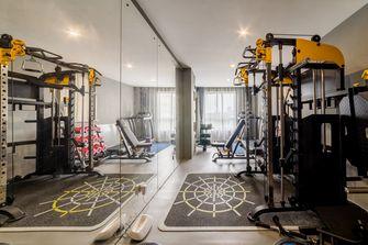 豪华型140平米别墅现代简约风格健身房设计图