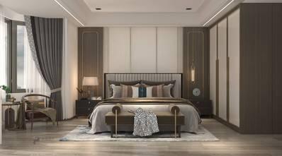 140平米四室四厅中式风格卧室设计图