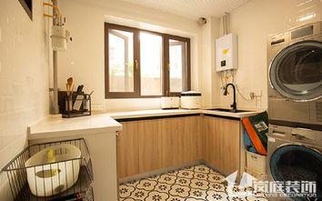 20万以上140平米三室两厅北欧风格厨房欣赏图