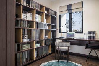 富裕型120平米四室两厅现代简约风格书房装修图片大全