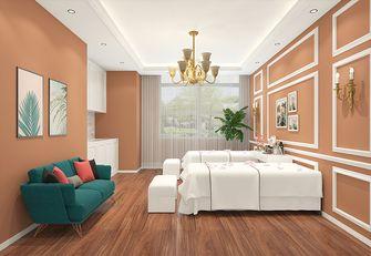3-5万50平米小户型轻奢风格卧室图片