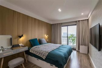 经济型80平米一室一厅北欧风格卧室装修案例