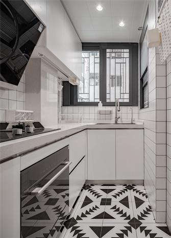 5-10万90平米新古典风格厨房图