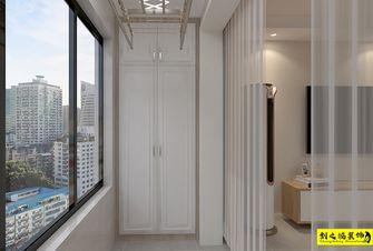 10-15万110平米三室两厅北欧风格阳台装修案例