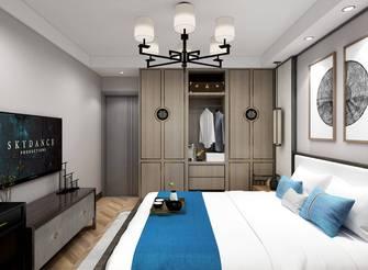 豪华型100平米中式风格卧室装修效果图