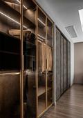 10-15万110平米三室两厅美式风格衣帽间欣赏图