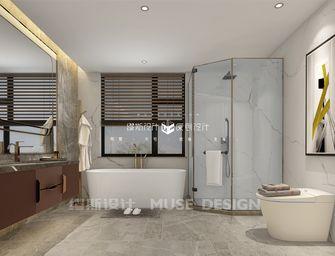 140平米别墅轻奢风格卫生间装修效果图