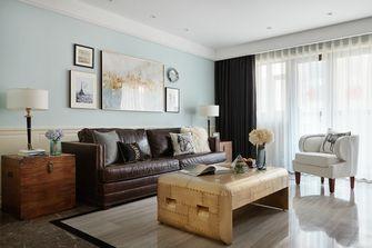 豪华型120平米三室三厅美式风格客厅图片大全