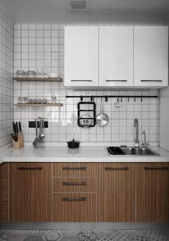 5-10万50平米一室两厅北欧风格厨房图