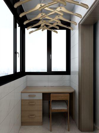 70平米日式风格阳台设计图
