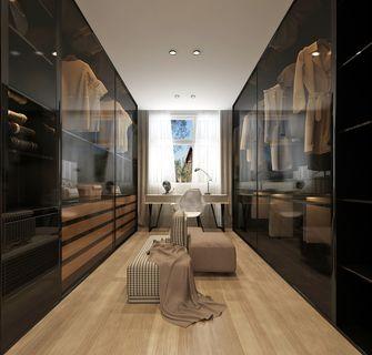 140平米别墅港式风格衣帽间设计图