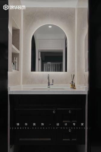 90平米现代简约风格卫生间欣赏图