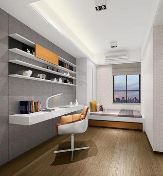 富裕型120平米三现代简约风格书房效果图