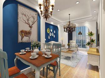 富裕型70平米地中海风格餐厅装修效果图
