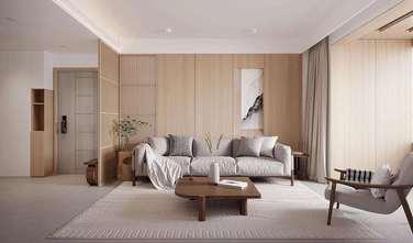 经济型110平米田园风格客厅图