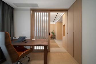 富裕型140平米三日式风格书房装修效果图