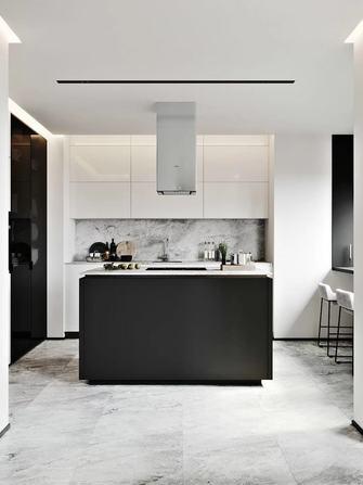 130平米三室两厅法式风格厨房图片大全