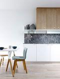 5-10万60平米混搭风格厨房设计图