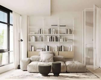 富裕型60平米一室一厅日式风格客厅图