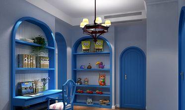 140平米三室两厅地中海风格书房图
