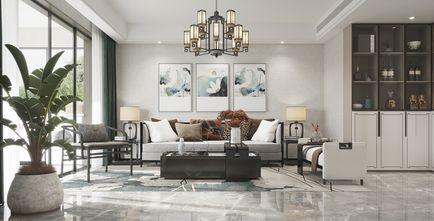 豪华型130平米三室两厅新古典风格客厅欣赏图