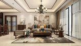 100平米三中式风格客厅装修图片大全
