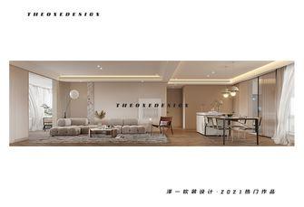 140平米三室两厅混搭风格客厅装修效果图