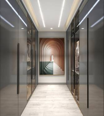 20万以上140平米四现代简约风格走廊图
