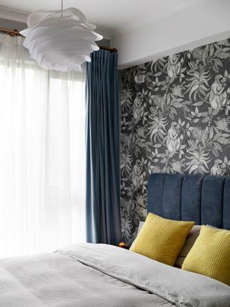 富裕型80平米英伦风格卧室装修案例