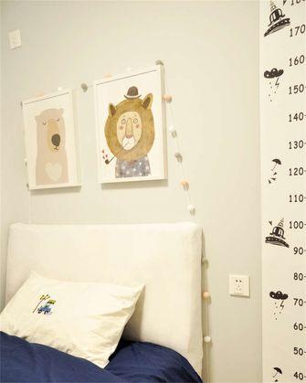 15-20万60平米复式北欧风格青少年房装修图片大全