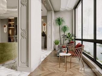 豪华型120平米三室两厅轻奢风格阳台图片大全