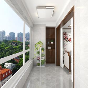 120平米三室两厅中式风格阳台装修案例