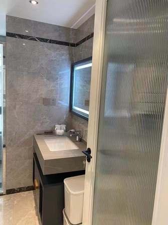 140平米三室一厅中式风格卫生间图