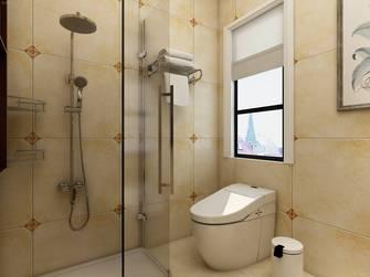 90平米混搭风格卫生间设计图