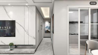 豪华型130平米三室两厅现代简约风格走廊装修案例