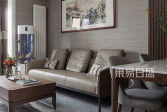 富裕型50平米一居室轻奢风格客厅装修图片大全