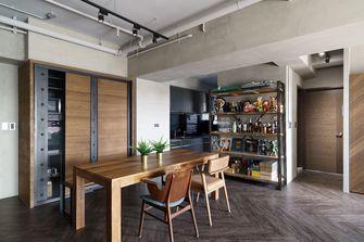 60平米公寓工业风风格餐厅图